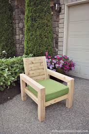 Rustic Outdoor Bench by Ana White Diy Modern Rustic Outdoor Chair Diy Projects