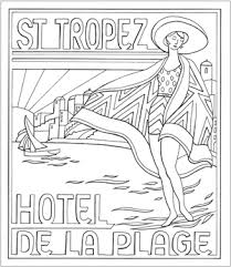 art deco coloring book pages coloring pages pinterest