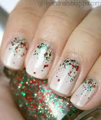 Nail Art Nail Polish Designs Best 25 Simple Christmas Nails Ideas On Pinterest Xmas Nails