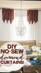 Knock Off No Sew Dining These Are Anthropologie Knock Off Curtains For Only About 20 A