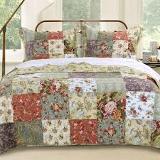 amazon com greenland home antique chic king 3 piece bedspread set