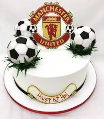 for the biggest manchester united fan wooo desserts cakes