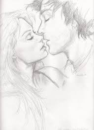 photos love couple kiss sketch drawing art gallery