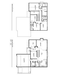 Colonial Floor Plan Golden Homes Inc Macomb Mi
