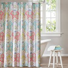 Echo Design Curtains Echo Design Cyprus Shower Curtain Bed Bath Beyond