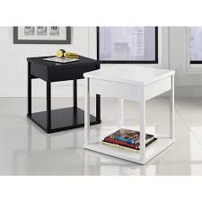 mainstays parsons end table amazon com mainstays 2 tier writing desk espresso kitchen