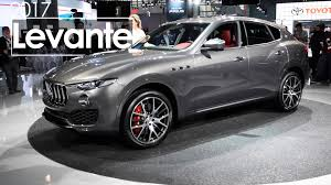 maserati jeep 2017 2017 maserati levante 2016 new york international auto show