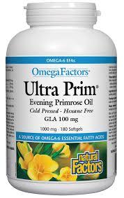 factors ultra prim evening primrose oil 180 softgels