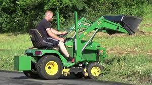 john deere 2210 compact tractor manual john deere 455 diesel tractor with loader and mower youtube