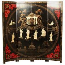 Moroccan Room Divider Painted Moroccan Room Divider Or Folding Screen For Sale At