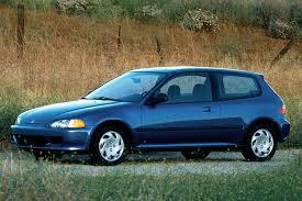 1994 honda civic 4 door 1992 95 honda civic consumer guide auto