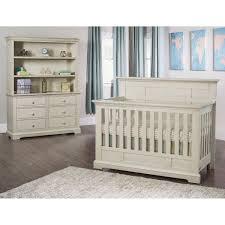 addison flat top crib 5 piece nursery collection white