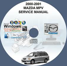 mazda mpv 2000 2001 service repair manual on cd www