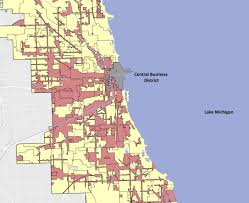 Chicago District Map by Tax Increment Financing Amy Beth Schoenecker