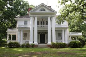 southern plantation house plans properties capital area preservation colonial revival style