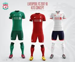 Seeking Liverpool Liverpool Football Club 2017 18 Kits Concept Liverpool