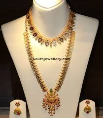 long chain necklace designs images Kasula peru necklace and long chain jewellery designs jpg