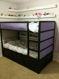 ana white daybed converted to fit ikea kura bunk bed diy projects