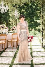 papell bridesmaid dress garnet chagne wedding inspiration elizabeth