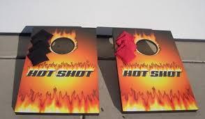 lg shot bean bag game toss