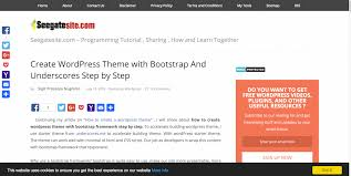 wordpress layout how to 17 tutorials on how to create a wordpress theme 2017 colorlib