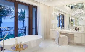 Bathroom With Mirrors Dressing Tables With Mirrors Reflect The Of The Décor