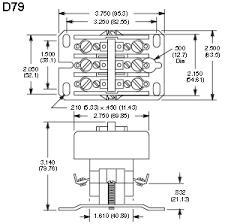 nte electronics rly400 series definite purpose contactors