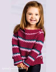 s sweater patterns children s crochet sweater patterns crochet and knit