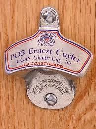 unique wall mounted bottle openers personalized us coast guard wall mount bottle opener