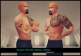 raven4sims dwayne u201cthe rock u201d johnson u0027s tattoos