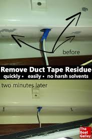 Duck Hold It For Rugs Tape Removing Duct Tape Residue The Boat Galley