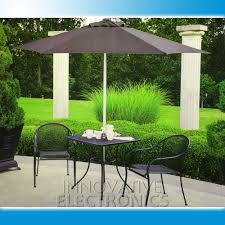 Black And White Striped Patio Umbrella by Outdoor U0026 Garden Teak Wood Offset Patio Umbrella For Outdoor