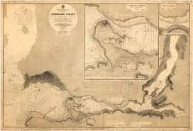 nautical map burrard inlet city of vancouver archives