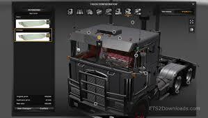 Kenworth K100 Interior Reworked Kenworth K100 V5 0 Ets 2 Mods Ets2downloads