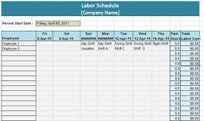 outline excel excel work schedule template weekly work schedule