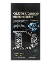 200gs diamond bright glutathione softgels