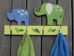 towel hooks for kids bathroom towel kid 39 s safari bathroom accessories kid 39 s bathroom pinterest safari animals bathroom towel hook rack pottery barn kids inspired elephant