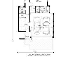 narrow lot floor plan add style with two story narrow lot house plan homeblend