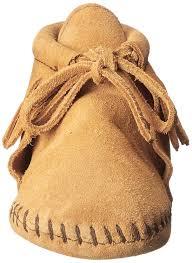 minnetonka babies u0027 fringe bootie crawling shoes beige tan baby
