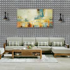 grey wall paneling promotion shop for promotional grey wall yazi 4pcs grey 3d wall panels diy self adhesive pe foam wall sticker wallpaper home shop cafe wall decor
