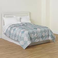 Blue Quilted Coverlet Quilts Coverlets Kmart