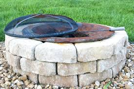 How To Make A Brick Patio by Articles With Diy Fire Pit On Concrete Patio Tag Terrific
