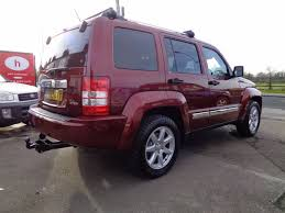 used jeep liberty used jeep cherokee 2 8 crd limited 5dr auto nav for sale in hull