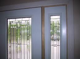 storm door window replacement white interior front door with the storm door was replaced with a
