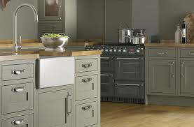 b q kitchen ideas cooke lewis carisbrooke taupe framed kitchen ranges kitchen