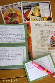 mon cahier de cuisine faire cahier de recettes
