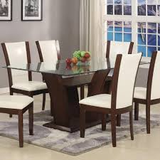 glass top dining room tables rectangular glass rectangle dining table rectangular with top camelia white by