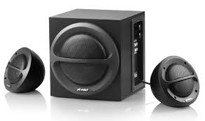 home theater in flipkart f u0026d a110 2 1 channel multimedia speakers price buy f u0026d a110 2 1