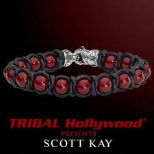 red bracelet men images Mens beaded and bead bracelets tribal hollywood jpg