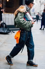 o style da semana de moda masculina de londres mens winter